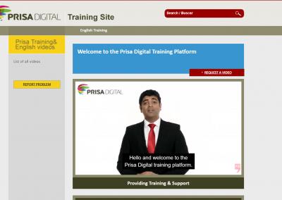 Prisa Digital English Learning Platform (LMS)